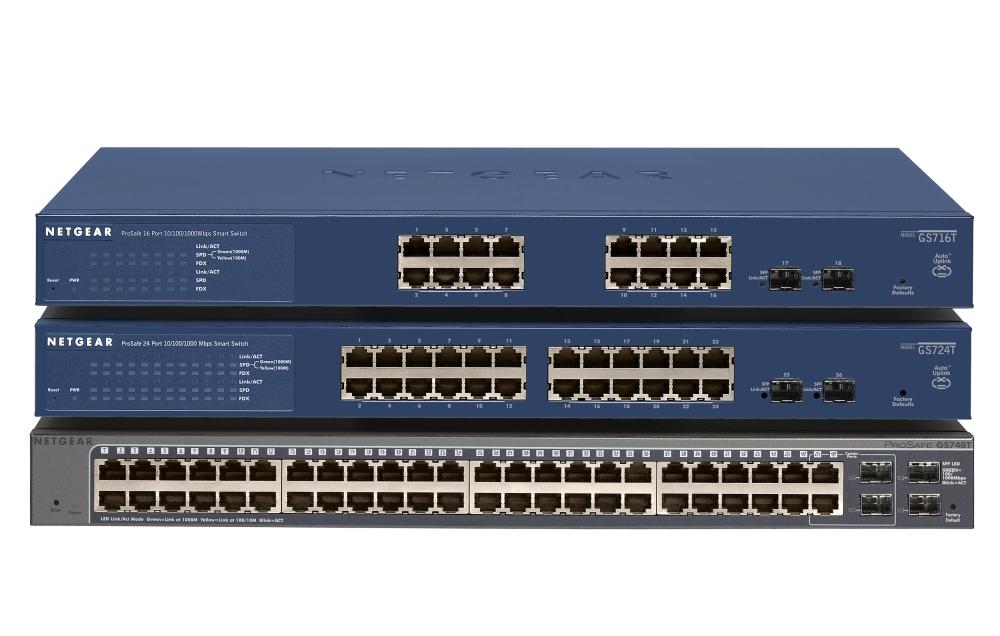 Netgear gs716t 300eus prosafe 16 port gigabit uk price - Switch 16 ports gigabit ...